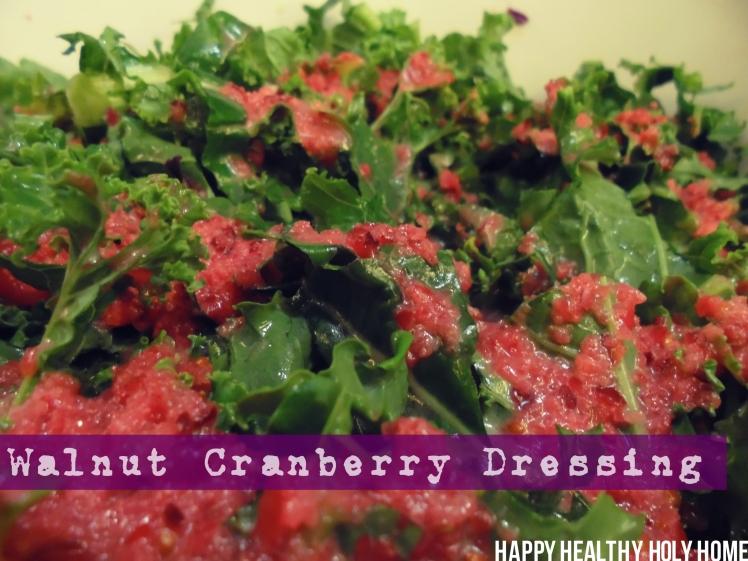 walnut cranberry dressing