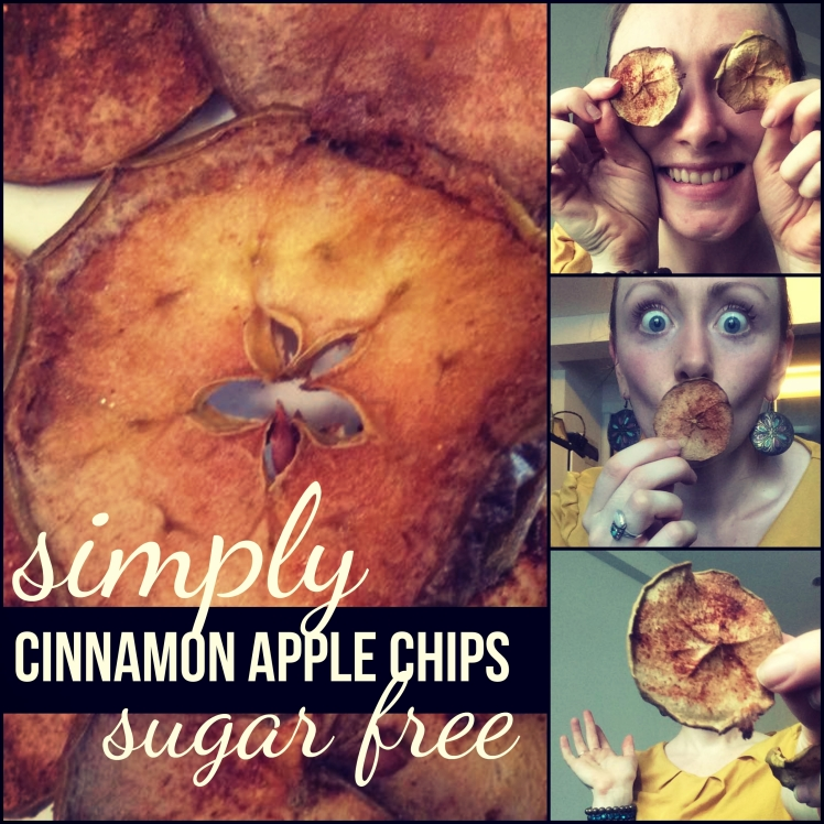 simply cinnamon apple chips
